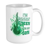 I'm Rockin Green for my Son Coffee Mug