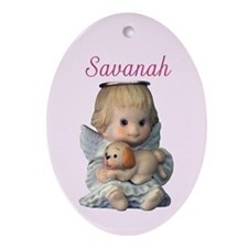 Savanah Ornament (Oval)