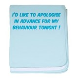 Behaviour Tonight baby blanket