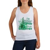 I'm Rockin Green for my Daugh Women's Tank Top