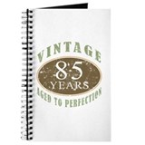 Vintage 85th Birthday Journal