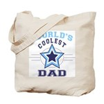 World's Coolest Dad Tote Bag