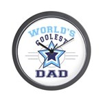 World's Coolest Dad Wall Clock