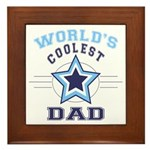 World's Coolest Dad Framed Tile