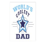 World's Coolest Dad Postcards (Package of 8)