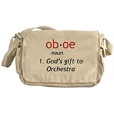 Oboe Definition Messenger Bag