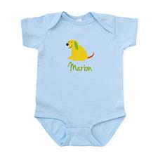 Marion Loves Puppies Infant Bodysuit