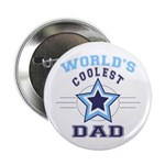 World's Coolest Dad Button