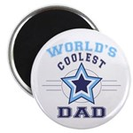 World's Coolest Dad Magnet