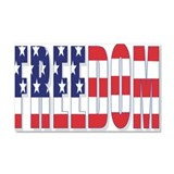 FREEDOM Car Magnet 20 x 12