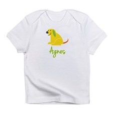 Agnes Loves Puppies Infant T-Shirt