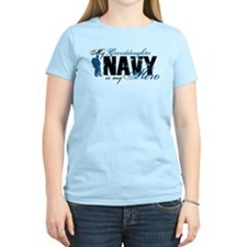 Granddaughter Hero3 - Navy T-Shirt