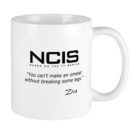 NCIS Ziva Omelet Quote Mug
