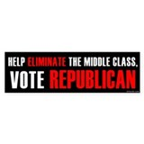 Vote Republican Bumper Bumper Sticker