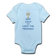 Keep Calm and Light the Menorah Onesie