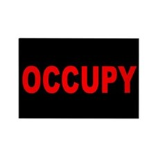 Occupy Wall Street: Rectangle Magnet