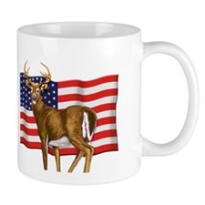 American White Tail Deer Buck Mug