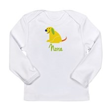 Nora Loves Puppies Long Sleeve Infant T-Shirt