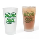 Organic Chick Drinking Glass