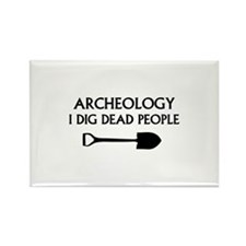Archeology Rectangle Magnet