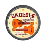 UKULELE Wall Clock