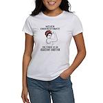 Crimson AL White T-Shirt