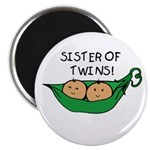 Sister of Twins Pod Magnet