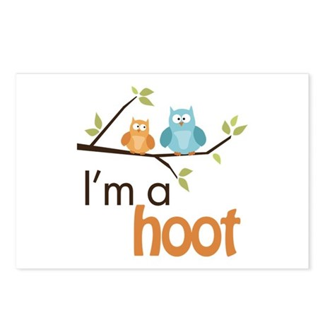 I'm A Hoot Postcards (Package of 8)