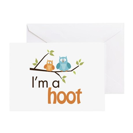 I'm A Hoot Greeting Card