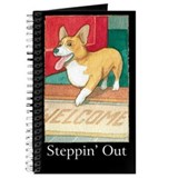 """STEPPIN' OUT"" (with copy) Journal"