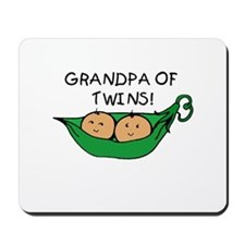 Grandpa of Twins Pod Mousepad