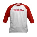 Theresa Kids Baseball Jersey