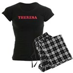 Theresa Women's Dark Pajamas