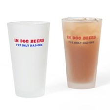 Unique Dogs Drinking Glass