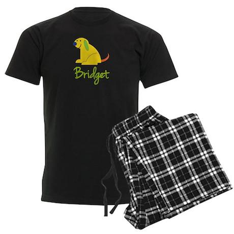 Bridget Loves Puppies Men's Dark Pajamas