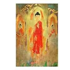 3 Enchanted Buddhas Postcards (8)