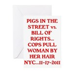 PIGS IN THE STREET vs. THE BI Greeting Cards (Pk o
