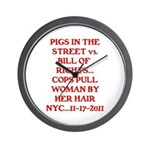 PIGS IN THE STREET vs. THE BI Wall Clock