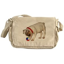 """French Bulldog 1"" Messenger Bag"