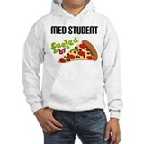 Med Student Funny Pizza Jumper Hoody