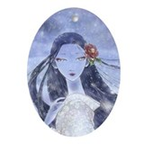 Yukionna Ornament (Oval)