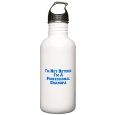 Professional Grandpa Water Bottle