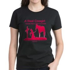 a real cowgirl Tee
