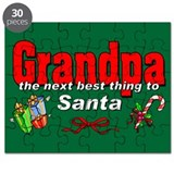 Grandpa, the next best thing to Santa Puzzle