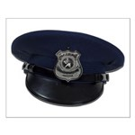 Police Badge Cap Small Poster