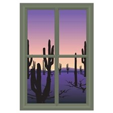 Cute Window view Wall Art