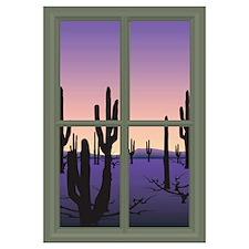 Unique Window view Wall Art