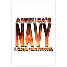 USN Americas Navy Flames
