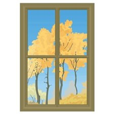 Cute Autumn leaves Wall Art