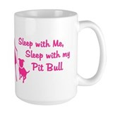 Sleep with My Pit Bull (retro Mug